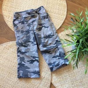 5 for $10 sale ! Pants camouflage gray 12m baby